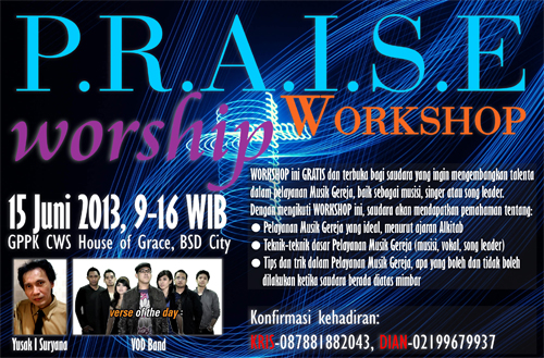Praise and Worship Workshop